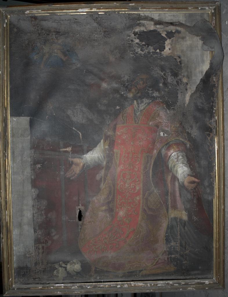 Dipinto ad olio S. Ferdinando
